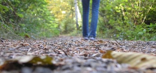 The first time - of walking alone, listening to your heart and making your own life's story